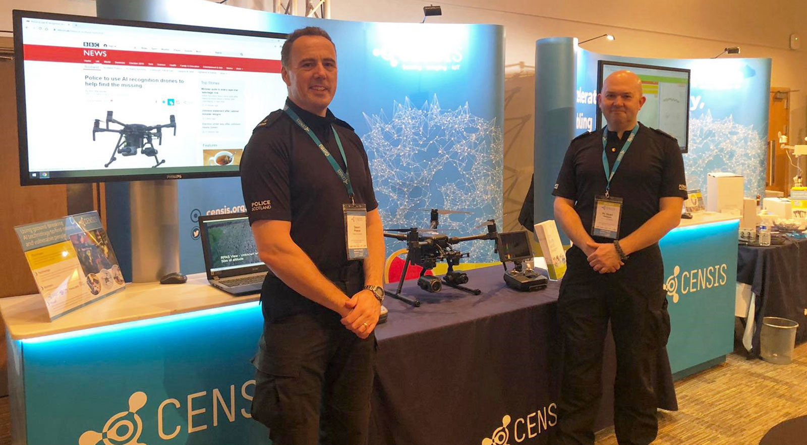 CENSIS Tech Summit 2019 - 8 - Police, drones